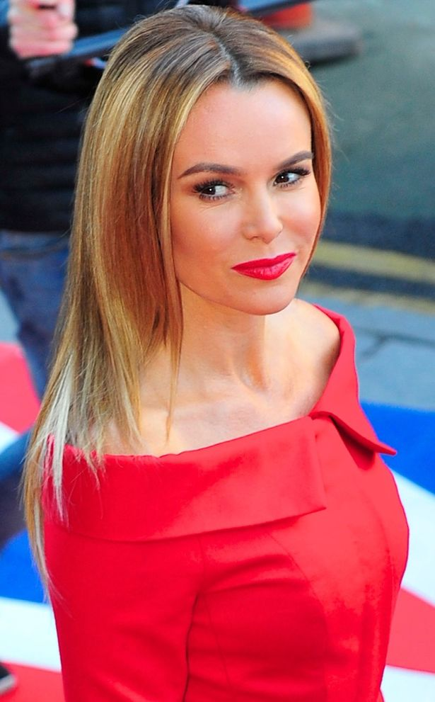 Amanda Holden Makeup Images