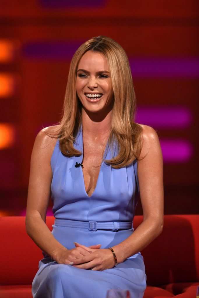 Amanda Holden Muscles Photos