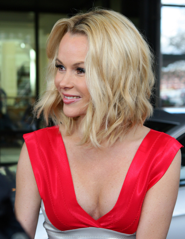 Amanda Holden Short Hair Images