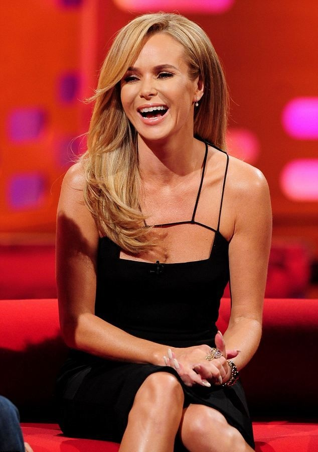 Amanda Holden Smile Face Photos