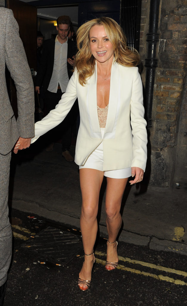 Amanda Holden Thighs Images