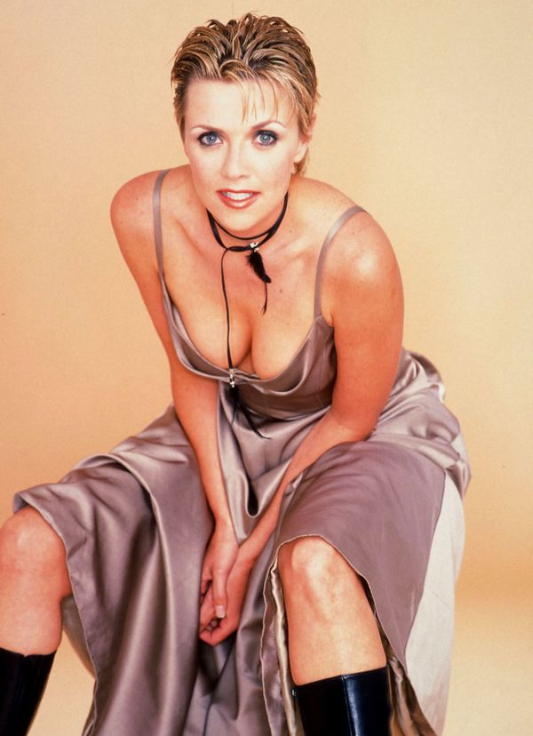 Amanda Tapping Braless Images