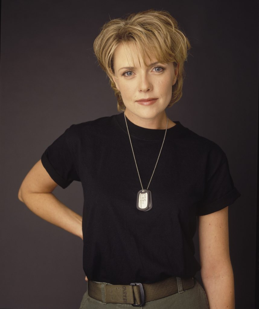 Amanda Tapping Cute Pics