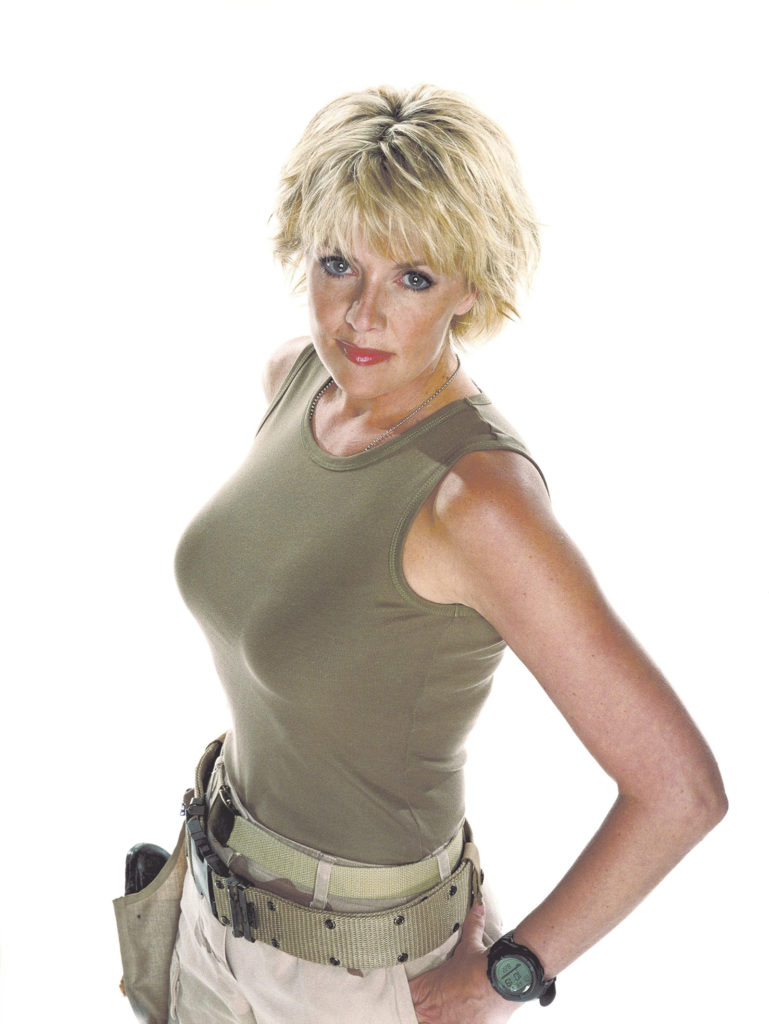 Amanda Tapping Leggings Pics