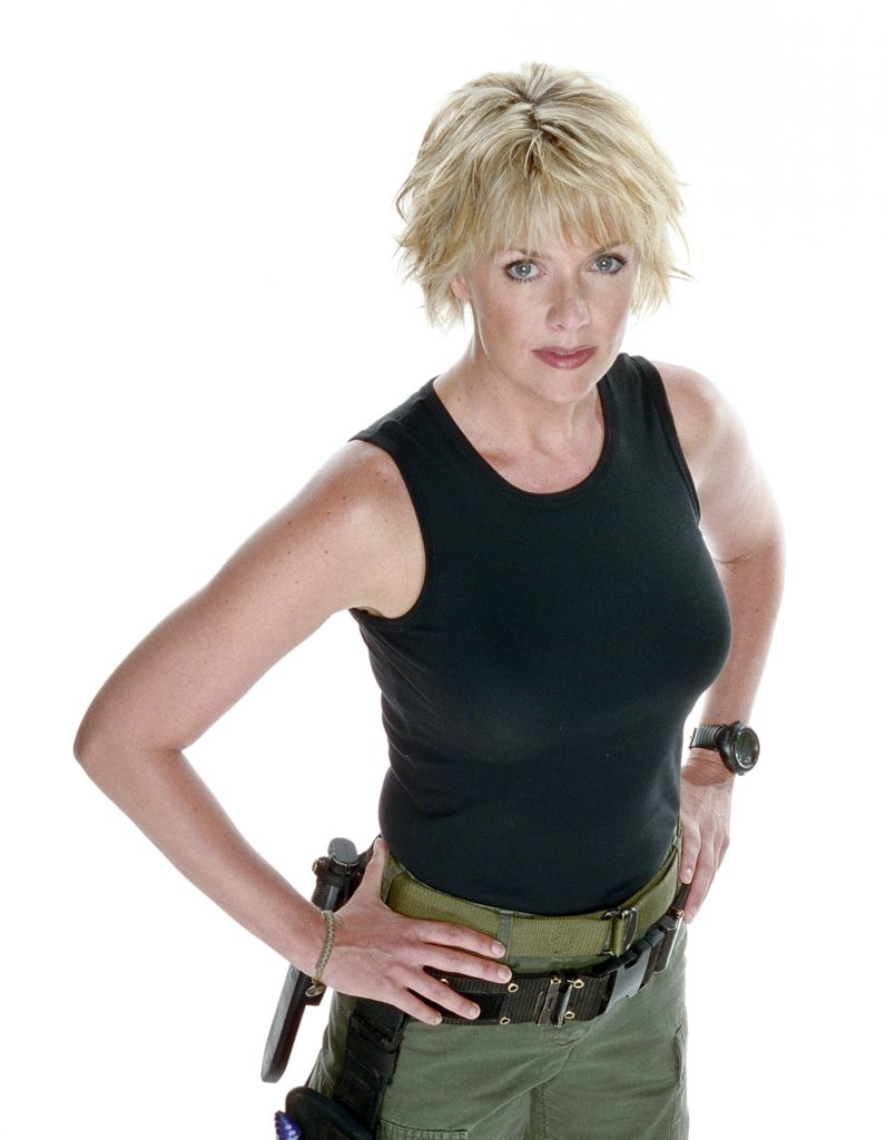 Amanda Tapping Movie Look Pics