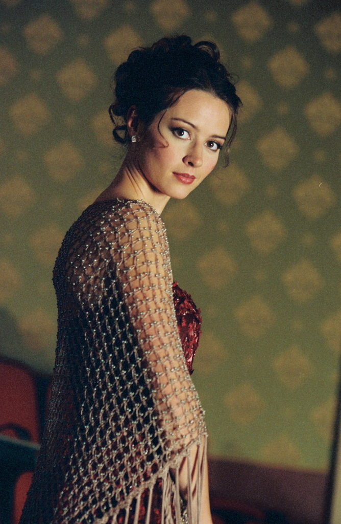 Amy Acker Backless Images