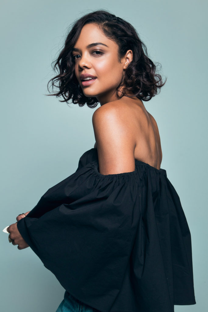 Tessa Thompson Backless Images