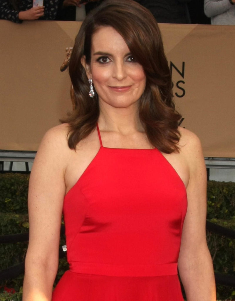 Tina Fey Red Clothes Pics