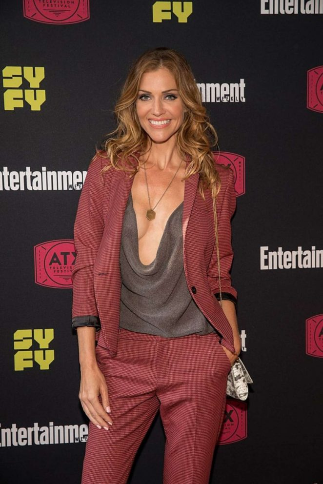 Tricia Helfer Workout Images