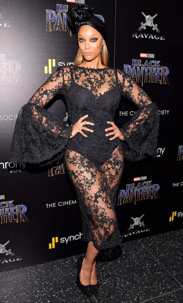 Tyra Banks Undergarments Wallpapers