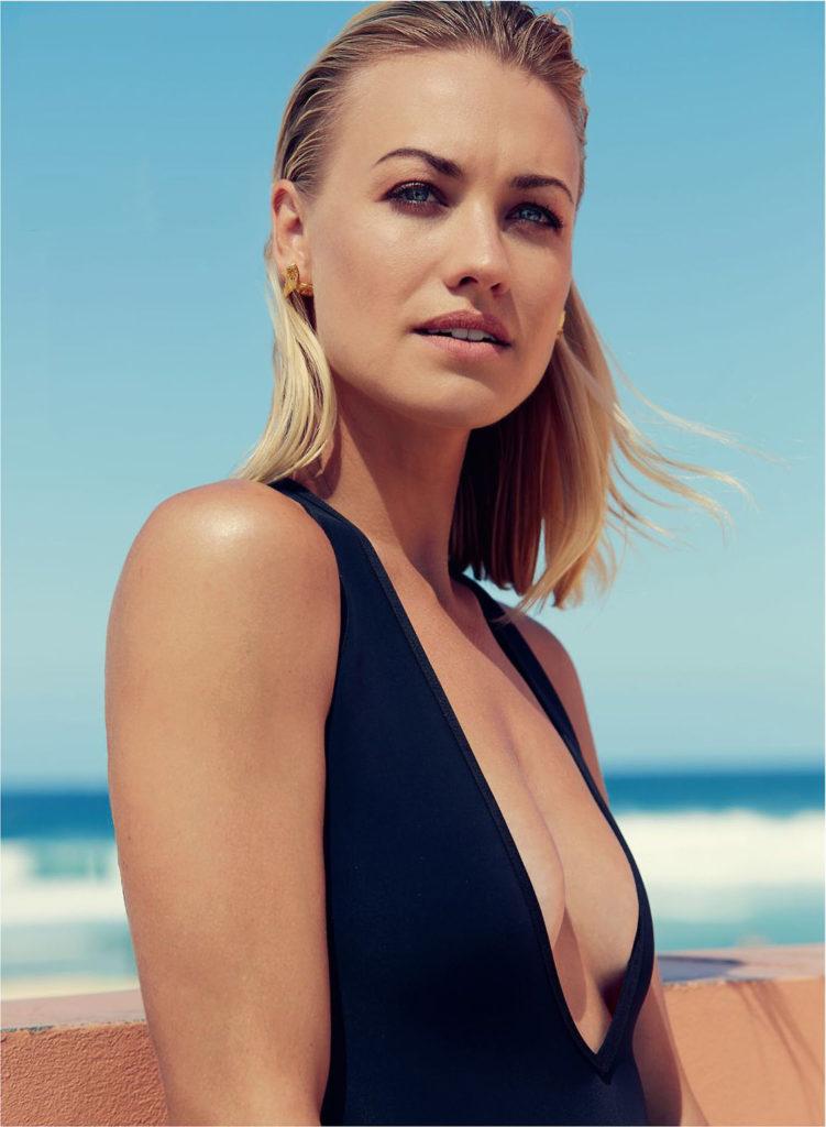 Yvonne Strahovski Beach Images