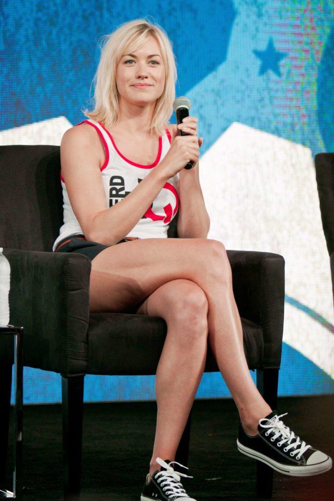 Yvonne Strahovski Thighs Photos
