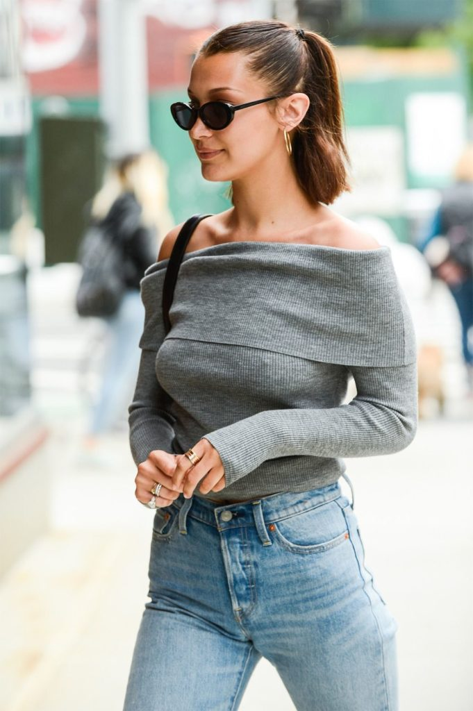 Bella-Hadid-Jeans-Images