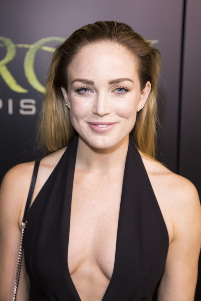 Caity-Lotz-Braless-Images