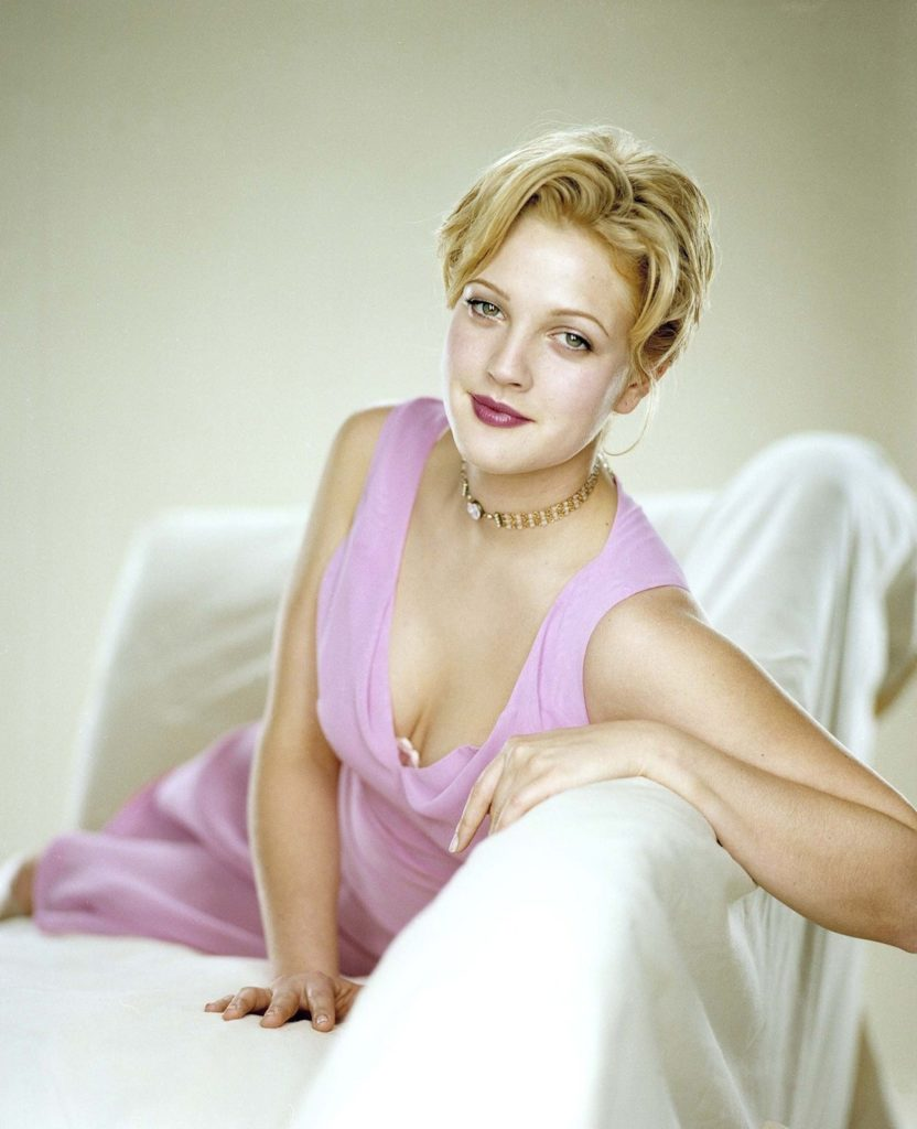 Drew-Barrymore-Topless-Images