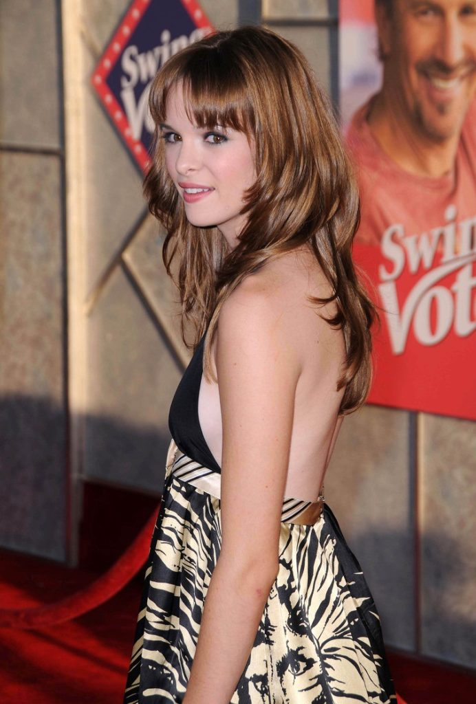 Danielle-Panabaker-Backless-Pictures