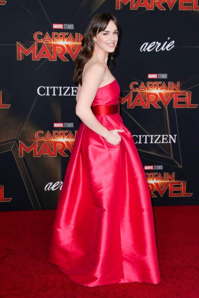 Elizabeth-Henstridge-Gown-Images