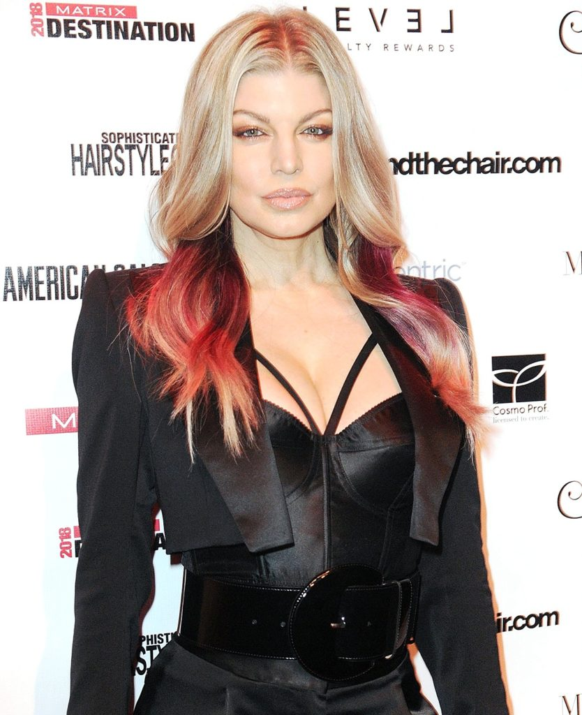 Fergie-Breast-Images