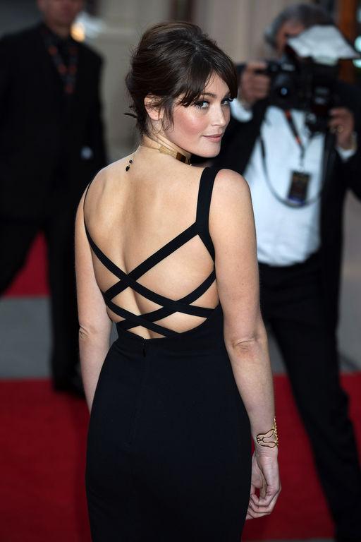 Gemma-Arterton-Backless-Images