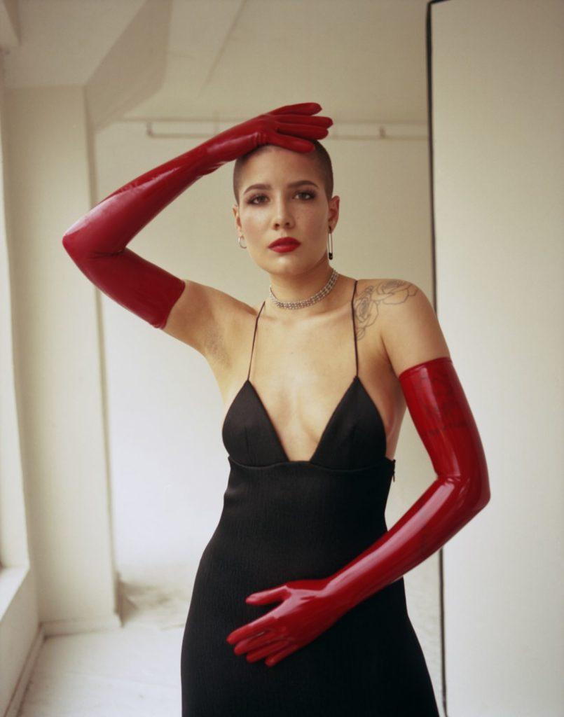 Halsey-Armpits-Photos