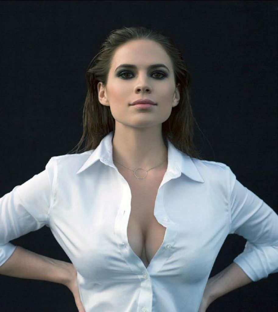 Hayley-Atwell-Braless-Images