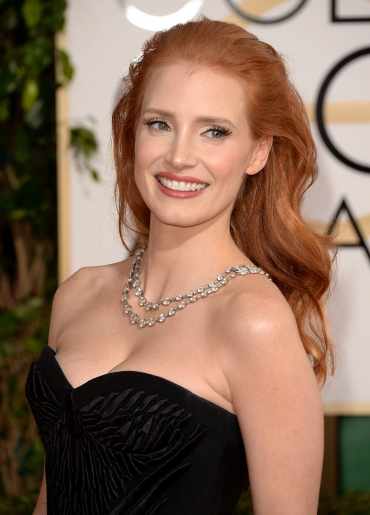 Jessica-Chastain-Hair-Style-Pictures