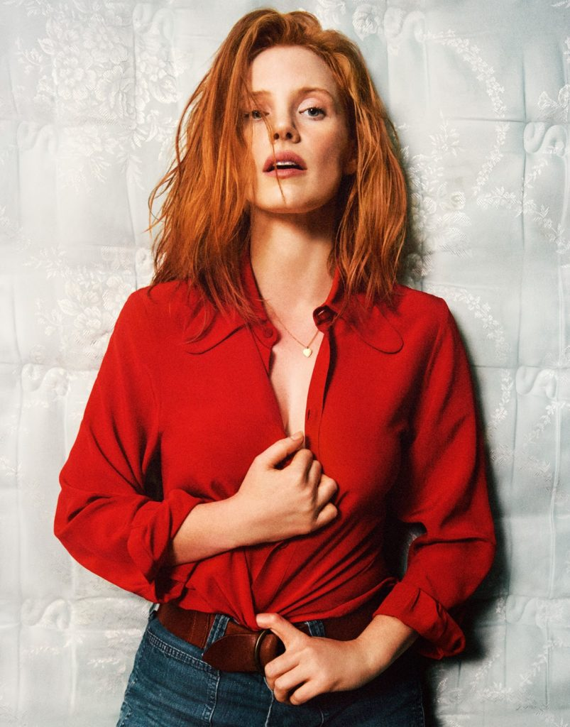 Jessica-Chastain-Jeans-Images
