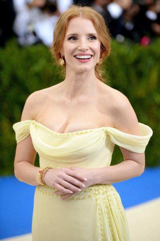 Jessica-Chastain-Lingerie-Images